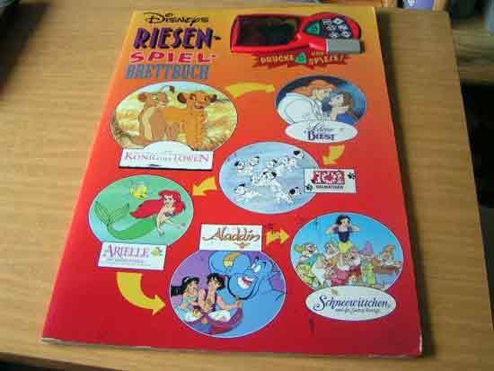 Disneys Riesen Spielbrettbuch von Tormont - Foto Roland G. Hülsmann