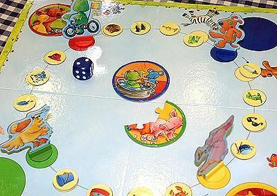 Die Lieben Sieben - Mein erstes Brettspiel von Reich der Spiele