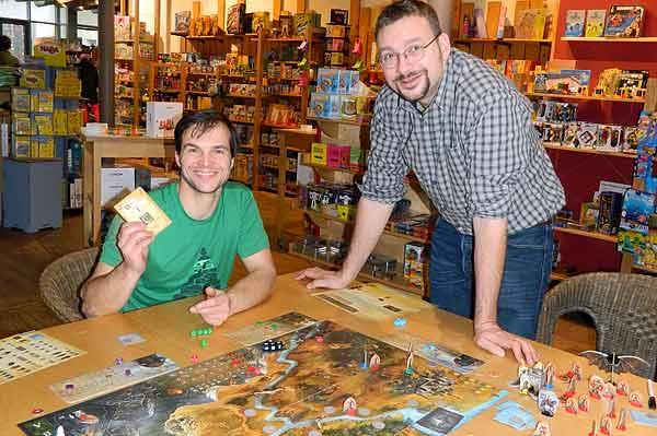 Michael Menzel stellt Die Legenden von Andor vor von Frank Riemenschneider