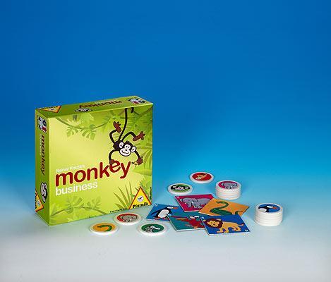 Monkey Buisness von Piatnik