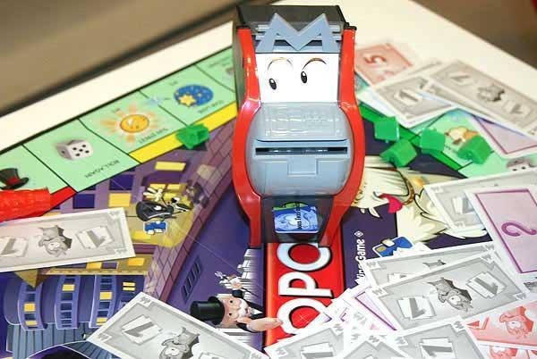 Monopoly - Der verrückte Geldautomat von Reich der Spiele