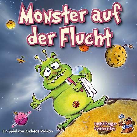 Monster auf der Flucht von Heidelberger Spieleverlag