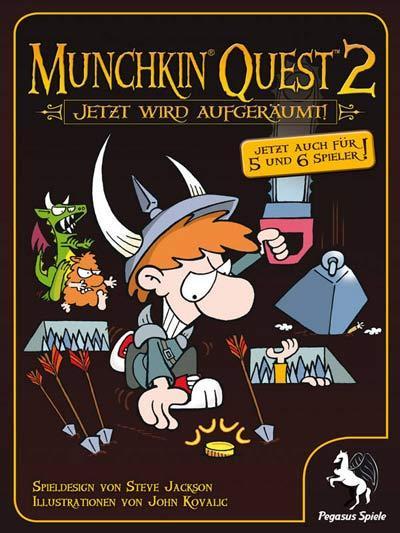 Munckin Quest  von Pegasus Spiele