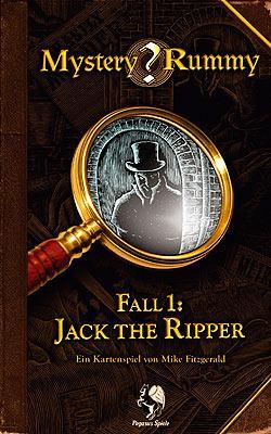 Mystery Rummy 1 - Jack The Ripper von Pegasus Spiele