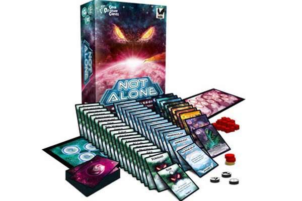 Gesellschaftsspiel Not Alone - Foto von Corax Games