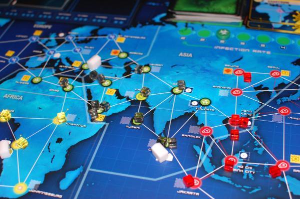 Pandemic Legacy Spielszene, Foto: Hendrik Breuer