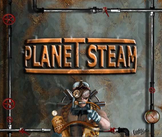 Planet Steam - PC Spiel von LudoArt