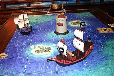 Piraten auf Schatzjagd von