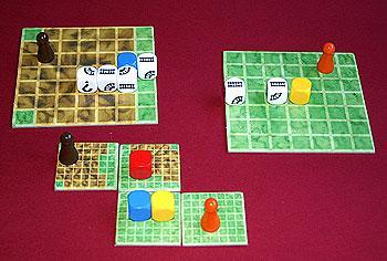 Railroad Dice von Reich der Spiele