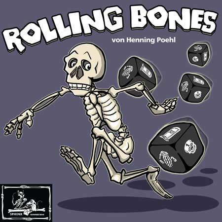 Würfelspiel Rolling Bones von Sphinx Spiele