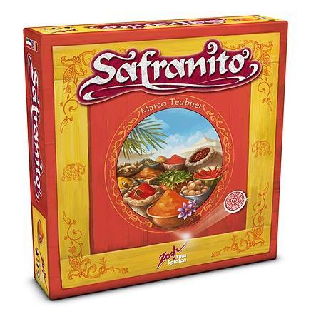 Safranito (geplante Schachtelgrafik) von Zoch Verlag