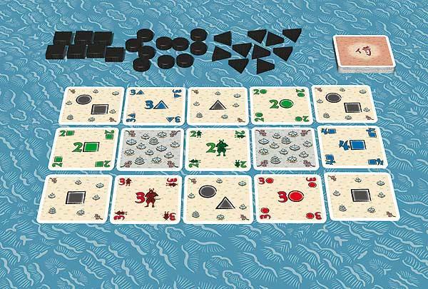 Samurai - Kartenspiel von Abacusspiele