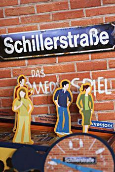 Schillerstraße von Anita Borchers