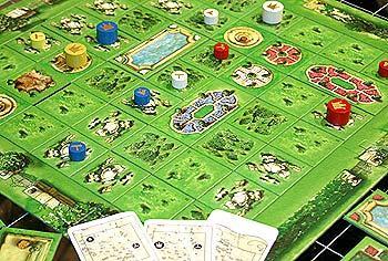Der Schlossgarten von Reich der Spiele