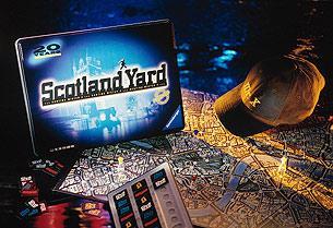 Scotland Yard - eine spätere Auflage von Reich der Spiele