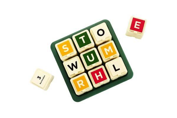 Scrabble Türme - Foto von Mattel