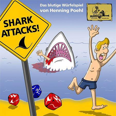 Shark Attacks von Sphinx Spieleverlag