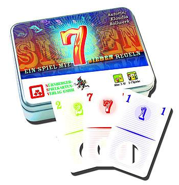 Sieben von Nürnberger Spielkartenverlag