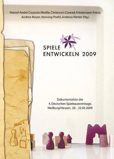 Spiele entwickeln 2009 von Sphinx Spieleverlag