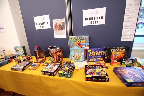 Neuheiten der Spielwarenmesse 2011 - für Spieler teilweise ein alter Hut von Photopool/Spielwarenmesse eG