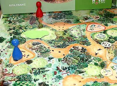 Spuren im Wald von Reich der Spiele