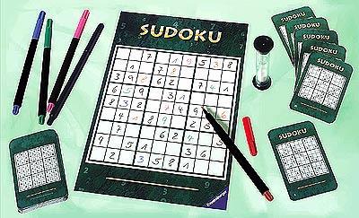 Sudoku - das Brettspiel von