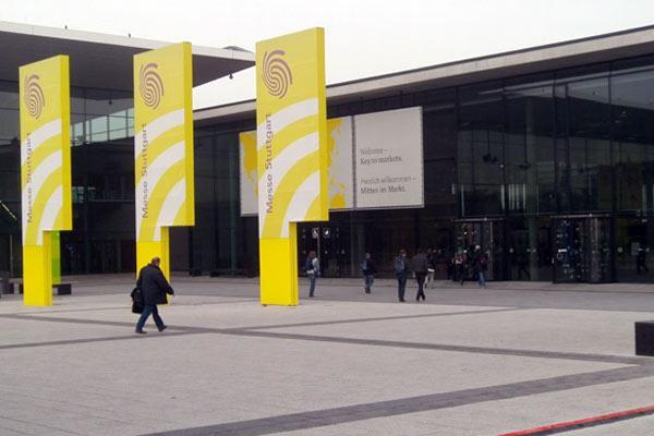 Süddeutsche Spielemesse 2012 - leere Eingänge von Jürgen Strobel