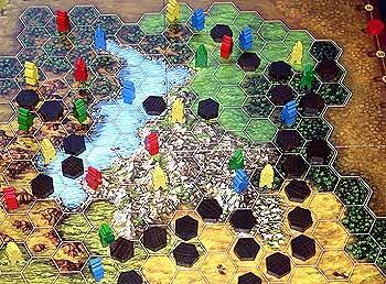 Terra Nova von Reich der Spiele