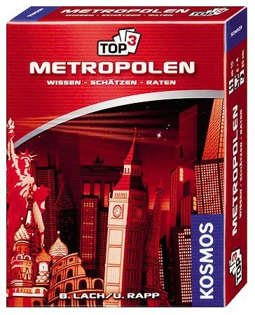 Top 3 - Metropolen - Schachtel von Kosmos