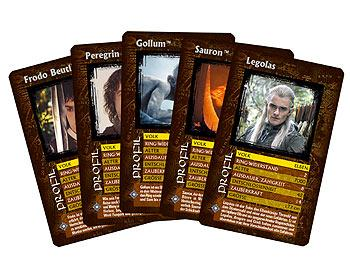 Top Trumps - Der Herr der Ringe von Winning Moves
