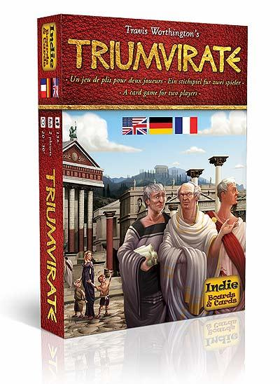 Triumvirate von Indie Boards & Cards