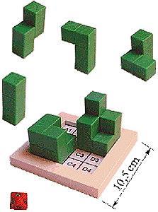 Das Turm-Baumeisterspiel von Logika