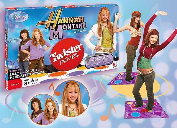 Twister Moves - Hannah Montana Edition von Hasbro