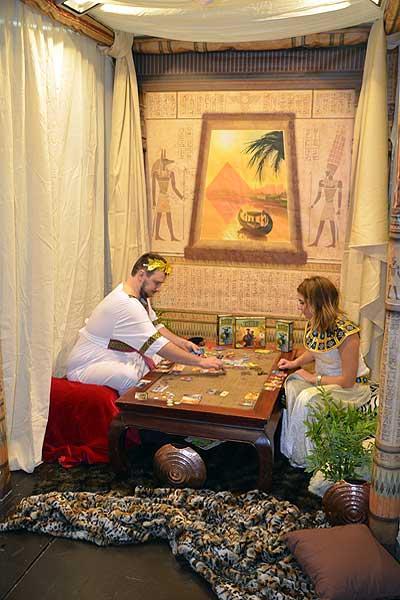 Foto von der Spiel '16:  7 Wonders Erweiterung