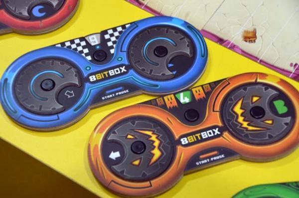 Foto von der Spiel '18: 8 BitBox - Brettspielkonsole