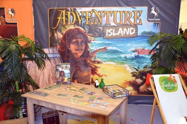 Foto von der Spiel '18: Adventure Island - Präsentation