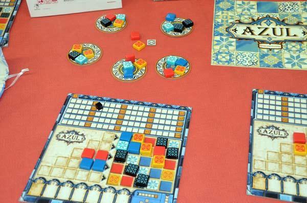 Foto von der Spiel '17: Azul