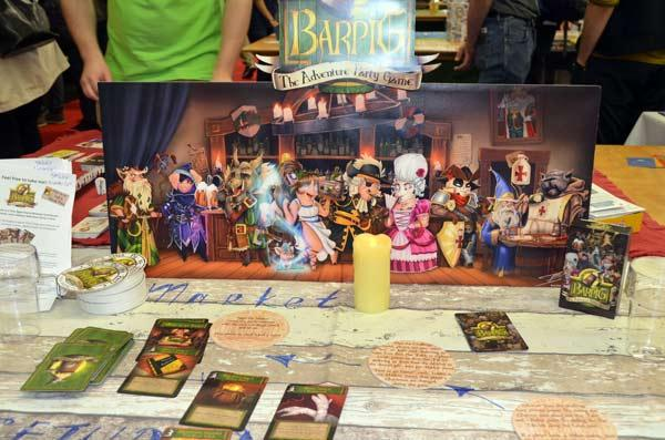 Foto von der Spiel '17: Barpig