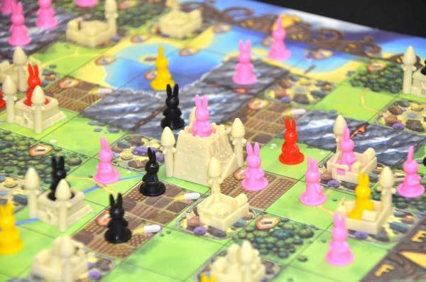 Foto von der Spiel '17: Bunny Kingdom