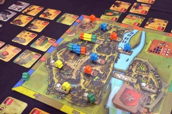 Foto von der Spiel '18: Castellum