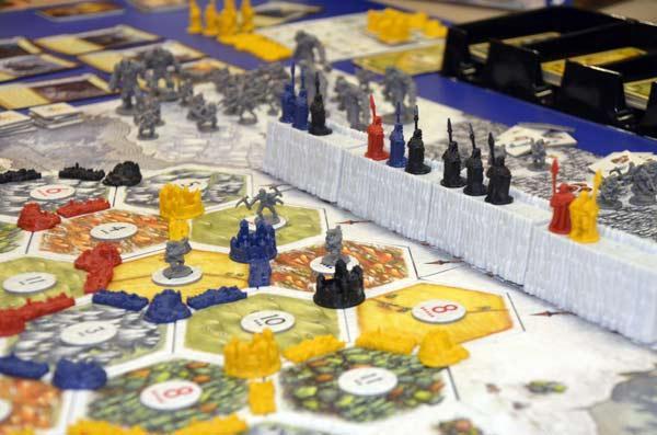 Foto von der Spiel '17: A Game Of Thrones: Catan