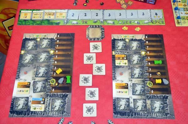 Foto von der Spiel '17: Caverna - Höhle gegen Höhle