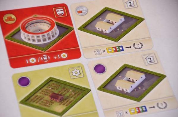 Foto von der Spiel '18: City Of Rome Spielmaterial