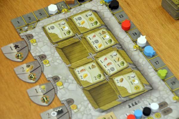 Foto von der Spiel '17: Clans Of Caledonia - Tableau