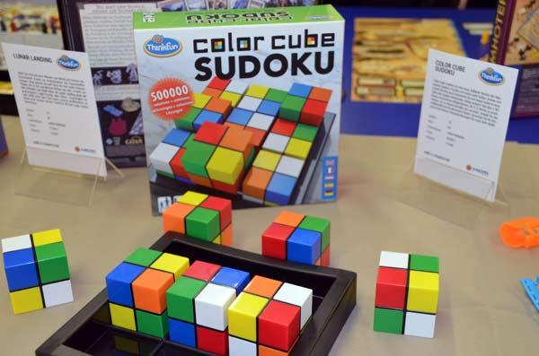 Foto von der Spiel '17: Color Cube Sudoku