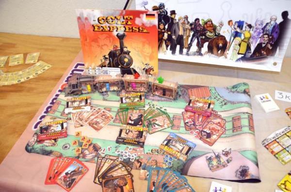 Foto von der Spiel '18: Erweiterungen für Colt Express - Bandits