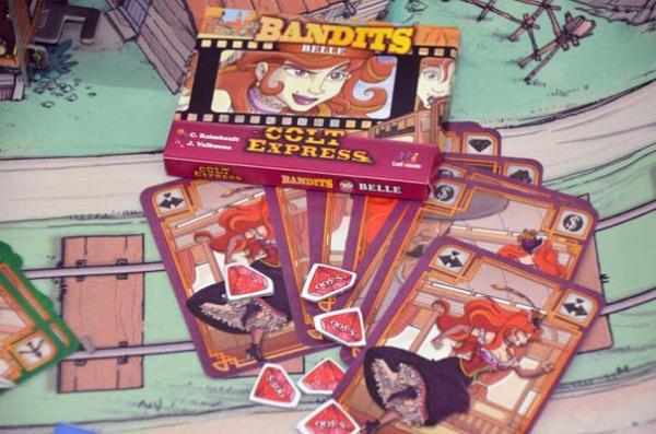 Foto von der Spiel '18: Colt Express - Bandits
