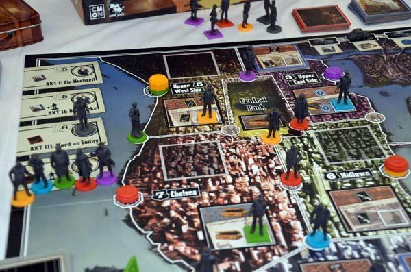 Foto von der Spiel '17: Der Pate Spielbrett