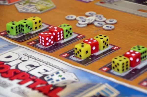 Foto von der Spiel '18: Dice Hospital