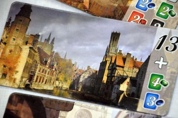 Foto von der Spiel '17: Detail von Die Städte von Splendor